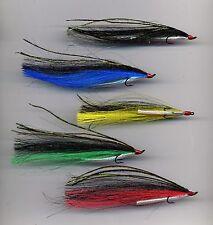 Salmon Flies: Sunray Shadow x 5 tied on to size 8 double hooks (code 531)