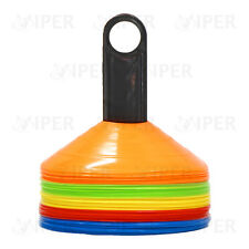 Markers Cones Space Markers 50 Football Rugby Hockey PE Training Agility Disc