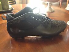 Under Armour Nitro III Mid Size Football Cleats All Black