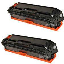 2pk CE320A (128A) Black Toner For HP Color Laserjet CM1415fnw CP1525nw