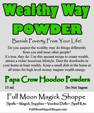 Wealthy Way Hoodoo Powder Banish Poverty Attract Riches Wealth Money Success