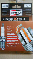 Four x Champion RN7YCC Spark Plugs equivalent to NGK BPR7ES - Morgan 4-4, Plus 4