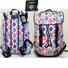 NEW Suicide Squad Harley Quinn Diamond Puddin Backpack Slouch Book Bag DC Comics