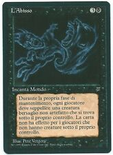 Magic mtg l 'Abisso/The Abyss fbb Italian Legends leggende the Gathering