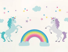 57pc Bright Star Kids Baby Girl / Boy Wall Decals for Nursery - Unicorn