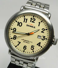 Mens American Made In Detroit With Swiss Parts Shinola Runwell 46mm Watch