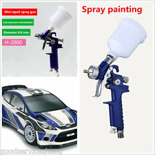 HVLP paint spray gun, with 0.8mm nozzle, paint gun tool