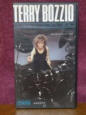 Terry Bozzio Solo Drums VHS Video (No Booklet) Missing Persons Frank Zappa  U.K.