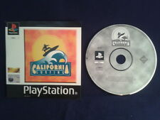 PS ONE CALIFORNIA SURFING  PLAY STATION I PAL