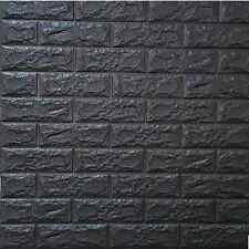 3D Brick Wall Sticker Self-Adhesive Foam Wallpaper Panels Room Decal 28×12.2''