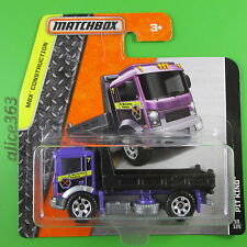 Matchbox 2016 -  Pit King   - MBX Construction  -  55  - neu in OVP
