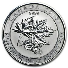 Kanada Canada Multi Maple Leaf Superleaf 1,5 oz 2016 8$ CAD 999 Silber Münze