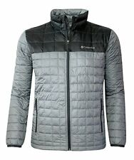 Columbia Rilan Ridge Men's OMNI HEAT JACKET ,Grey ,  Large ,Retail $160.00