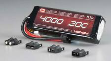 Venom 1580 3S 11.1V 4000mAh 20C Lipo Battery : Evader Savage Flux HP E-Maxx