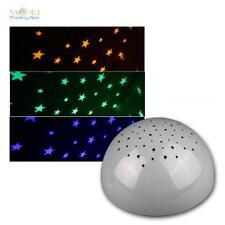 LED luce notte Tasto snooze light Stelle Proiettore Funzionamento a batteria