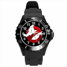 NEW* HOT GHOSTBUSTERS Unisex Black Round Sport Wrist Watch Gift