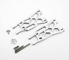 GDS Racing Alloy Front/Rear Lower Arms Silver for Traxxas X-Maxx Truck 1/5 (2pc)