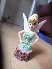 Figure disney tradition enesco Jim Shore Tinker Bell  Carved By Heart Figurine