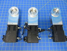 """VAT 01234-KA24-AVU1 2"""" Mini Gate Valves - Lot of 3 - Only Used with Air -"""
