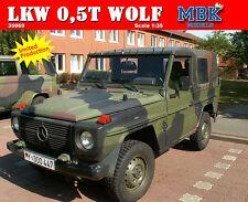 """LKW 0,5t gl """"WOLF""""  - MBK Models/Revell - 1:35  - 35069"""