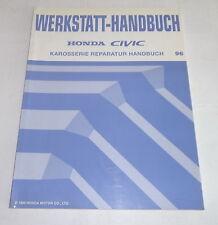 Werkstatthandbuch Honda Civic Karosserie Reparatur Mj.1996, Stand 08/1995