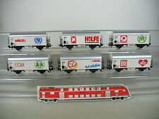 AM433-1# Märklin H0/AC 4400 Freight Car Set Large helps Small: Colourful+Picture