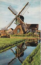 PAYS-BAS HOLLANDE NEDERLAND moulin hollandse molen timbrée