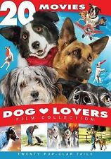 Dog Lovers Film Collection: 20 Movie Set (DVD, 2013, 4-Disc Set) - NEW!!