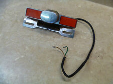 Honda VF700-C VF 700 Magna Used Original Rear License Plate Light 1984 #M2