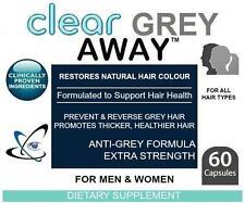 Grey Away Anti Grey Pills Catalase Restores Natural Hair Colour Prevents Gray