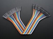 """Adafruit Premium Female/Female Jumper Wires - 20 x 6"""" (150mm)"""