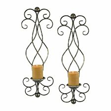 Aspire Home Accents 6625 Estelle Candle Wall Sconce (Set of 2)