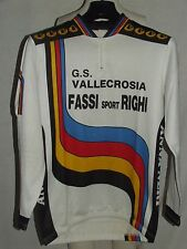 MAGLIA SHIRT MAILLOT CICLISMO CYCLISM BICI FASSI RIGHI (1164) tg. M