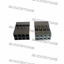 3pcs DUPONT CONNECTOR HOUSING FEMALE 2.54mm 2X4P DIY pitch connettore dupont