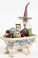 Disney Traditions Nightmare Before Christmas Lock, Shock & Barrel in Tub Statue