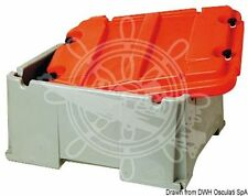 Osculati Polyethylene Double Battery Box Up to 200 Ah