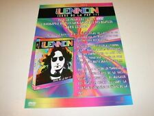 JOHN LENNON ICONE DE LA POP!!!!!!!RARE FRENCH PRESS/KIT