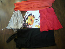 Job Lot Women Skirt Sizes UK4-8 5 Items, include Topshop, New Look, Zara, tfnc