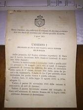 REGIO DECRETO AUT COMUNE di ANCONA A RISCUOTERE UN DAZIO DI CONSUMO SU Q CARTA