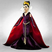 Disney Rare Villians Snow White WICKED EVIL QUEEN DESIGNER LIMITED EDITION DOLL