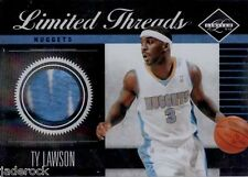 Ty Lawson 2011-12 Panini Limited Threads Prime Game Used Jersey Patch #33 (#/25)
