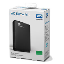 WD Elements 1TB External Hard Disk  (100% Original, 3 Year WD onsite Warranty)