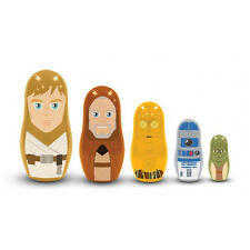 Star Wars Nesting Dolls Jedi and Droids PPW Toys 5 pc Collectible Set Matryoshka