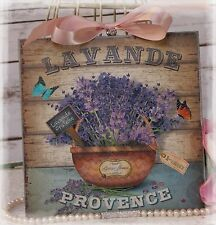 "~ ""LAVANDE..."" Vintage ~ Shabby Chic ~ Country Cottage style ~ Wall Decor Sign ~"