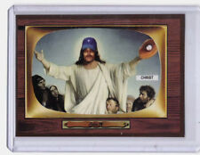 1955 Jesus Christ, Most Valuable Player retro Color TV baseball card