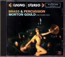 Morton GOULD BRASS & PERCUSSION RCA Living Stereo CD Sousa Stars Stripes Forever