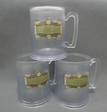 lot of 3 BUTTERBEER PLASTIC MUG CUP WIZARDING WORLD HARRY POTTER #Jh8
