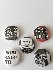 5 Sonic Youth button Badges Goo Daydream Nation Dirty Evol Sister Superstar 100%
