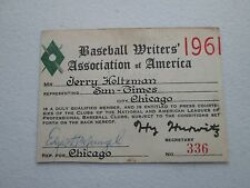 1961 Roger Maris 61 HR Tops Babe Ruth Ticket Pass Yankees Clinch Pennant/Mantle