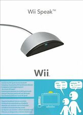 OFFICIAL WII SPEAK NINTENDO WII NUOVO INSCATOLATO